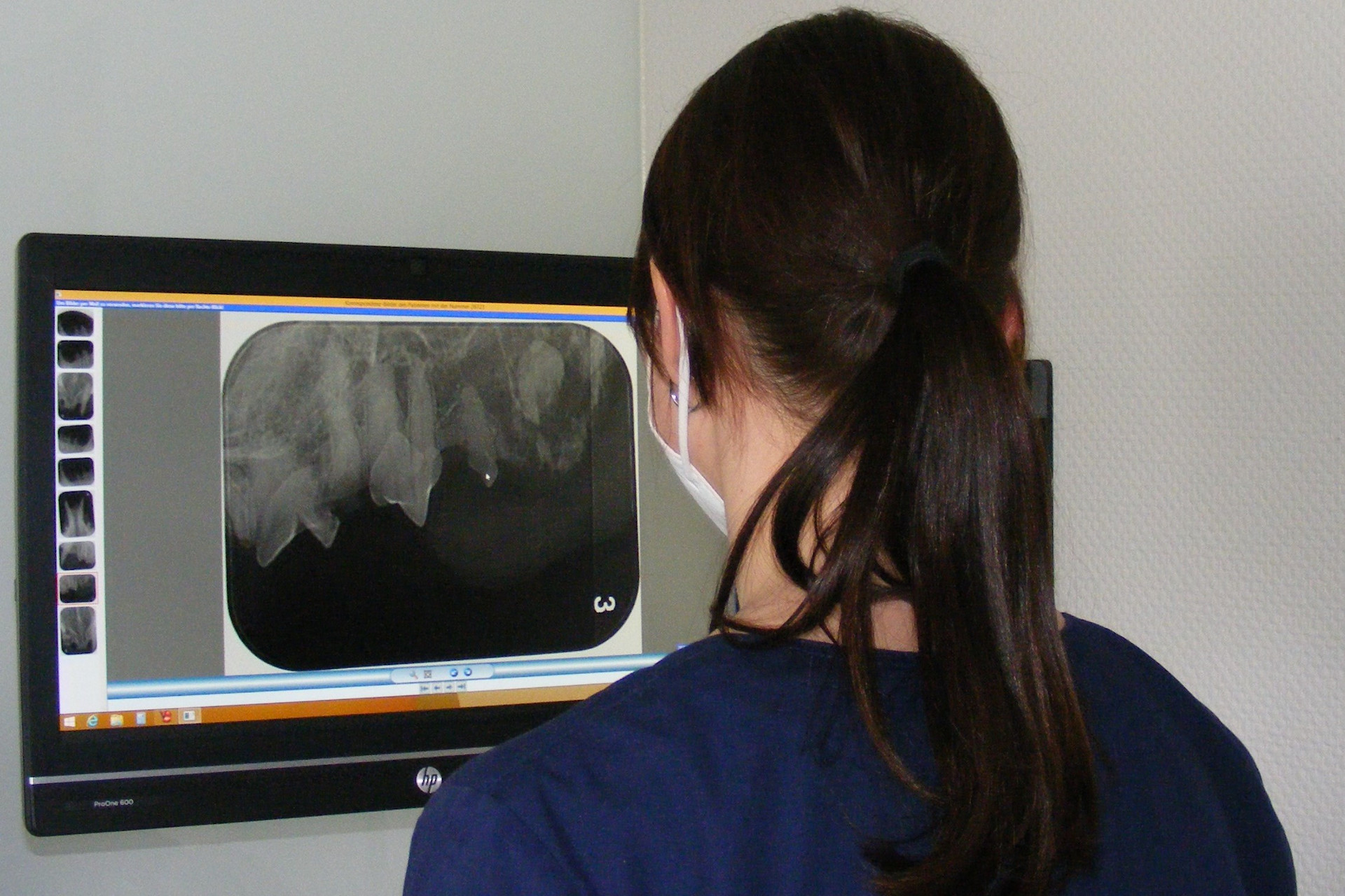 Zahnröntgen Website